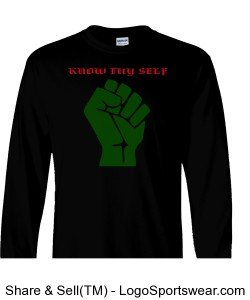 Know thyself Sleeve Adult T-Shirt Design Zoom